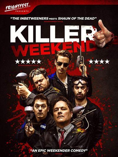 Killer-Weekend-FUBAR-reviews-film-movie-comedy-horror-2018-British-poster