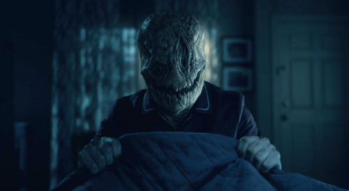 An apparition from Netflix series The Haunting of Hill House
