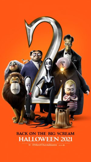 The Addams Family 2 animated comedy horror 2021 poster