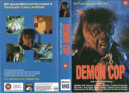 Demon-Cop-movie-film-crime-horror-1990-review-reviews-worst-VHS-Colourbox