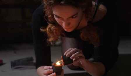 Devil-Down-South-movie-film-horror-mockumentary-Arianna-Tysinger-candle