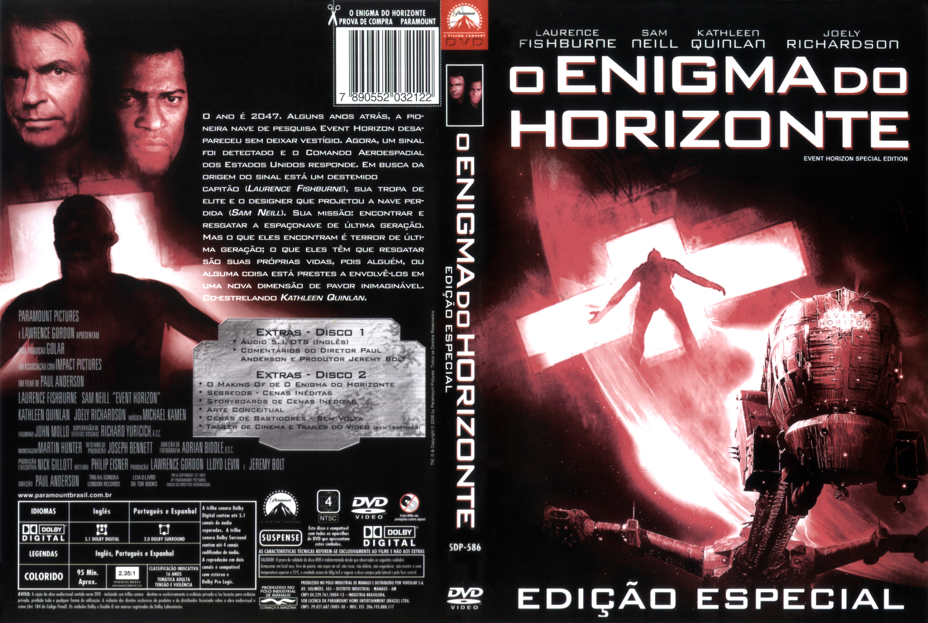 Poster do filme O Enigma do Horizonte