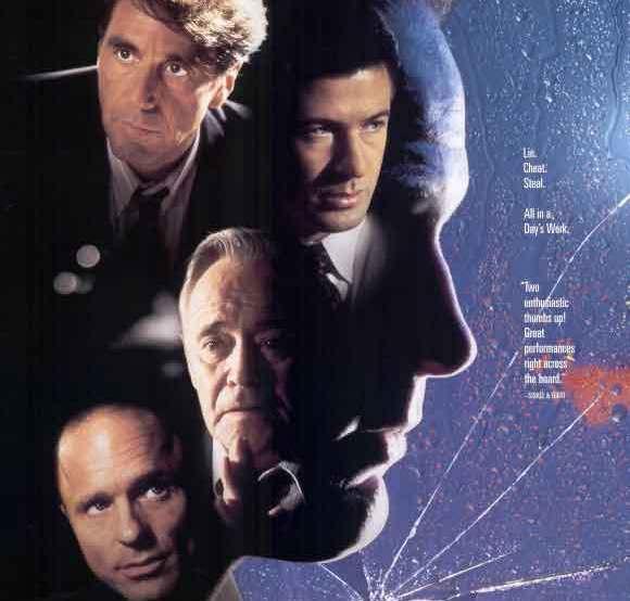 poster of Glengarry Glen Ross movie 1992 starring Al Pacino