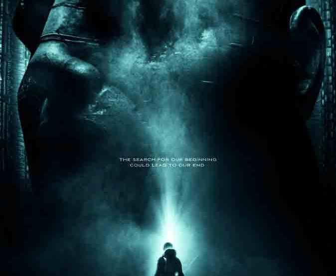 Prometheus 2012 movie poster