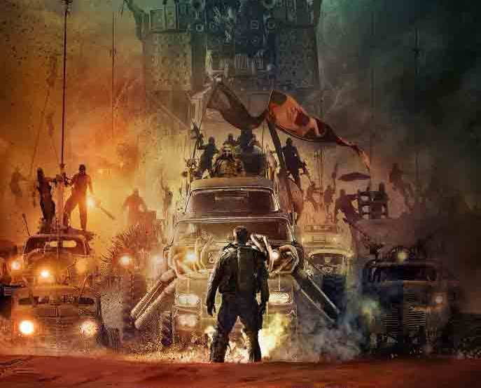 Mad Max Fury Road movie poster 2015 starring Tom Hardy