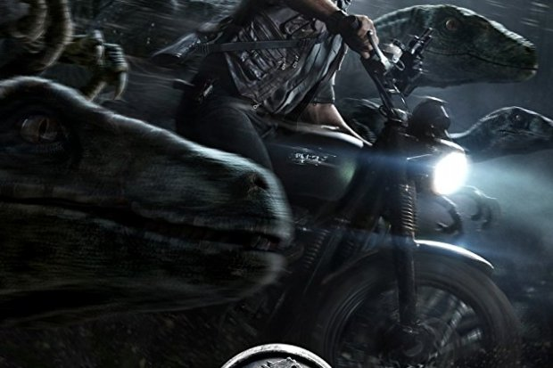 Jurassic World movie poster 2015