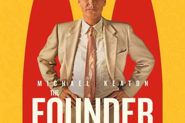 The Founder movie poster starring Michael Keaton