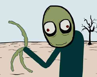 Erotic salad fingers