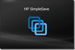 HP SimpleSave logo