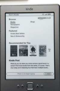 Kindle Store on device