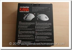 UWHS Review - SteelSeries Kana Mouse 002