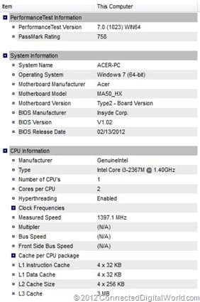 CDW Review of the Acer Aspire Timeline U - 50 - Copy