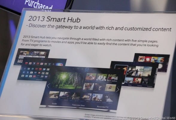 CDW - Samsung Smart Hub 2013 at CES 2013 - 2