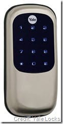 Yale Real Living Key-Free Deadbolt TS