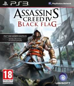 Assassins Creed 4 Cover PS3