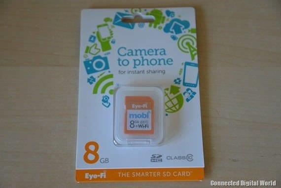 CDW Review of the 8GB Eye-Fi mobi SD card - 1