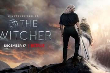 The Witcher season 2. Henry Cavill's Geralt of Rivia and Freya Allan's Ciri
