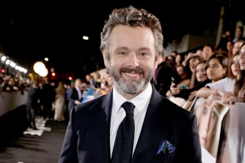 """Michael Sheen seen at Columbia Pictures World Premiere of """"Passengers"""" at Regency Village Theatre on Wednesday, Dec. 14, 2016, in Los Angeles. (Photo by Eric Charbonneau/Invision for Sony Pictures/AP Images)"""