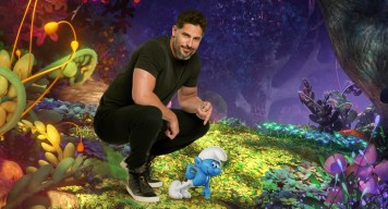 "Joe Manganiello voices ""Hefty"" in Columbia Pictures and Sony Pictures Animation's SMURFS: THE LOST VILLAGE."