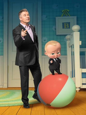 Alec Baldwin voices THE BOSS BABY