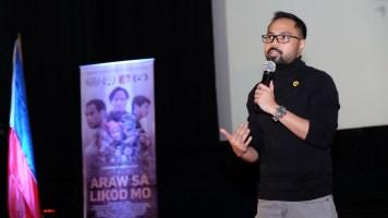 director Dominic Nuesa - ANG ARAW SA LIKOD MO