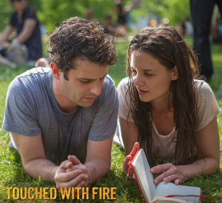 Luke Kirby & Katie Holmes in TOUCHED WITH FIRE