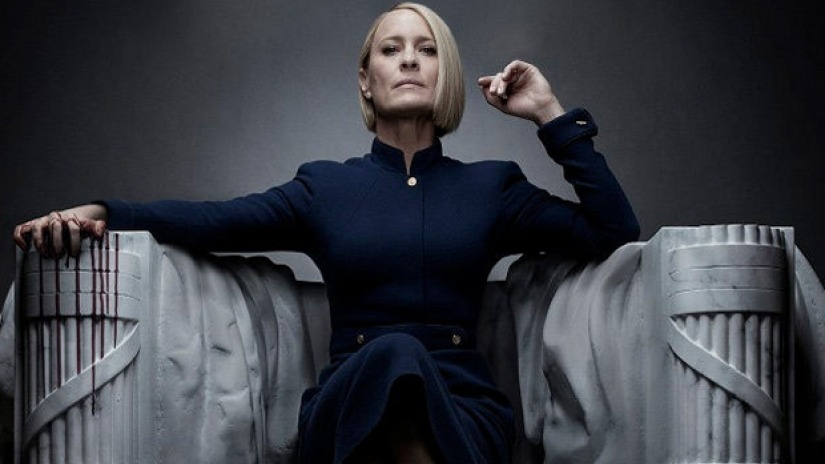 "Robin Wright Takes the ""Reigns"" in 'House of Cards' Season 6 Trailer"
