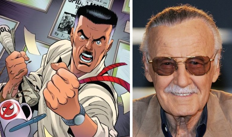stan lee jonah jameson