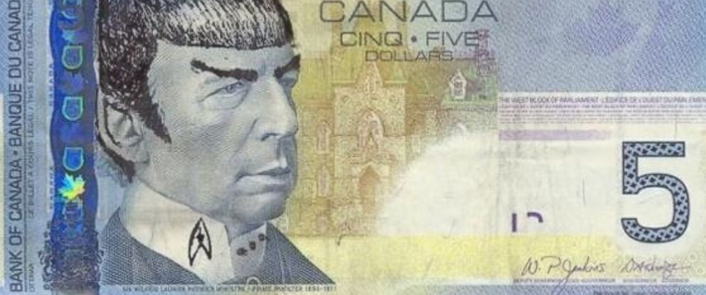 O' Canada: Just Live Long, Prosper, and Get Over It