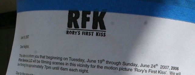 rory first kiss the dark knight