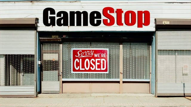 gamestop closed