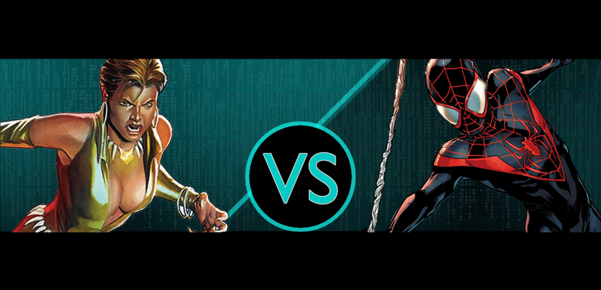 The Comic Colosseum | Spider-Man Vs. Vixen