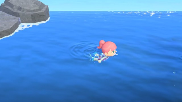 Nintendo's Animal Crossing now featuring swimming