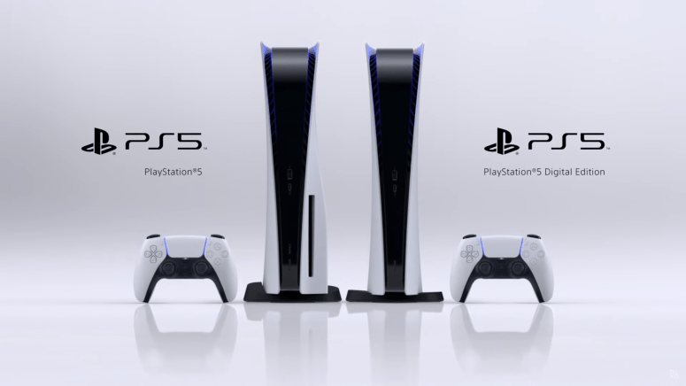 Sony's PlayStation5 in all of its glory.