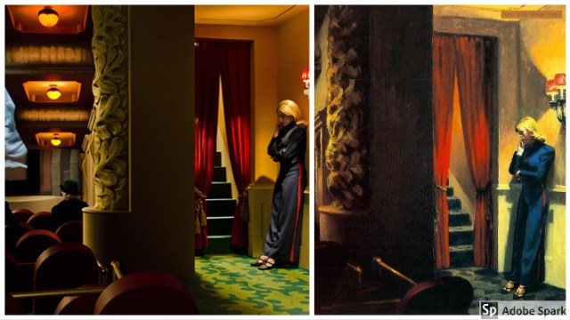 Painting that inspired movies Edward Hopper