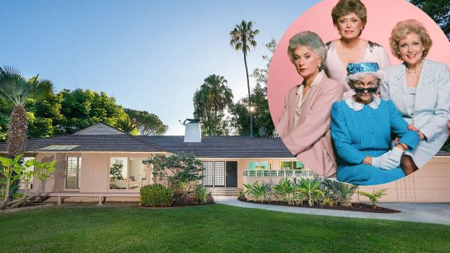 The Golden Girls House is beautiful