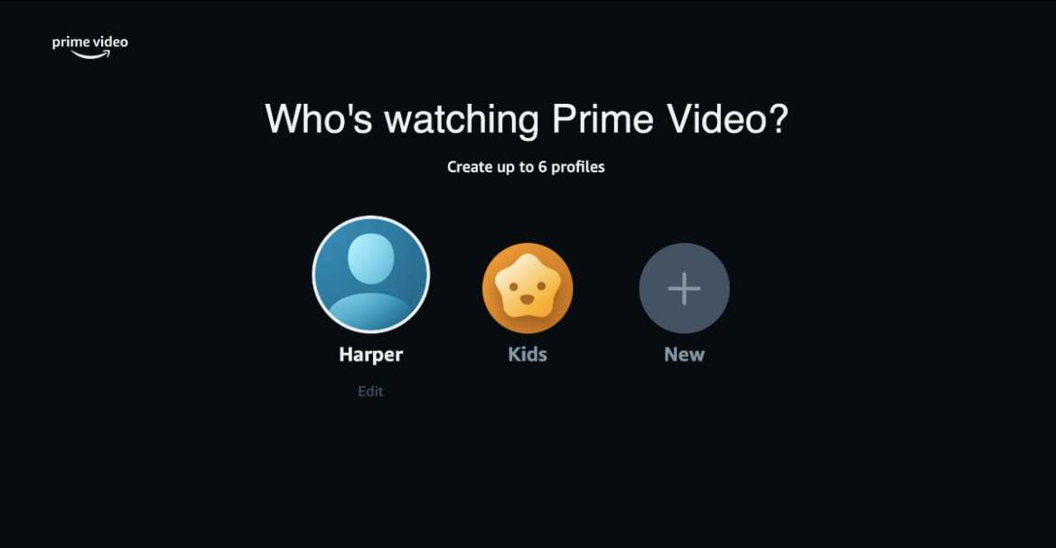 Amazon Prime Video Welcomes a Modern Look With User Profiles