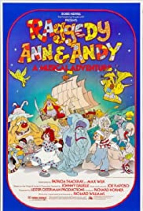 Raggedy Ann & Andy, 1977, was the first movie based on a toy