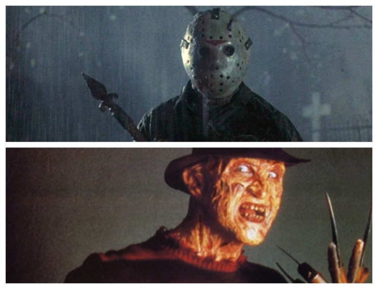 Freddy vs. Jason -- They were the titans of terror in the 1980s.