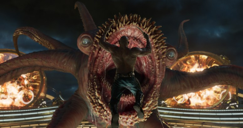 James Gunn knows how to deal with mystical creatures like Starro.