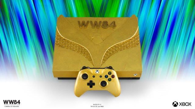 WW84 Xbox consoles - Golden Eagle Wonder Woman