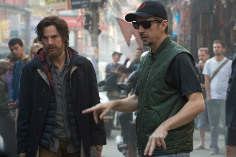Scott Derrickson on the Dr. Strange set, still wanting people to go to the movies.