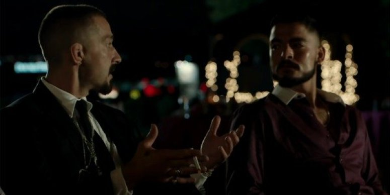 Shia LaBeouf and Bobby Soto in 'The Tax Collector'