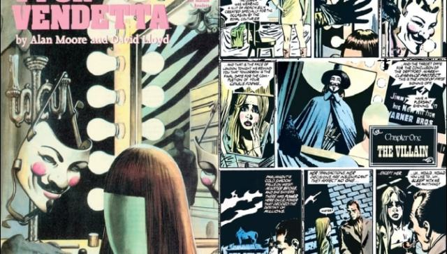 V for Vendetta comic, graphic novel