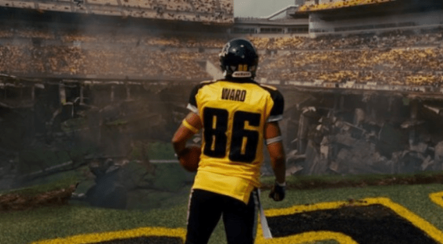 Ward who? One of the great easter eggs in The Dark Knight trilogy was about Hines Ward.
