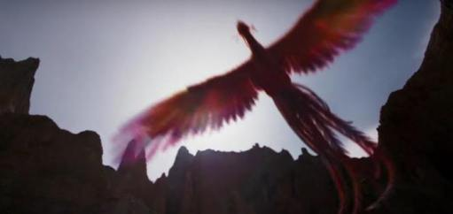 In Mulan, Mushu is appropriately replaced with the Phoenix in literal and metaphorical ways.