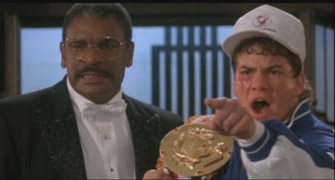 Richard Gant was superb as George Washington Duke in Rocky V