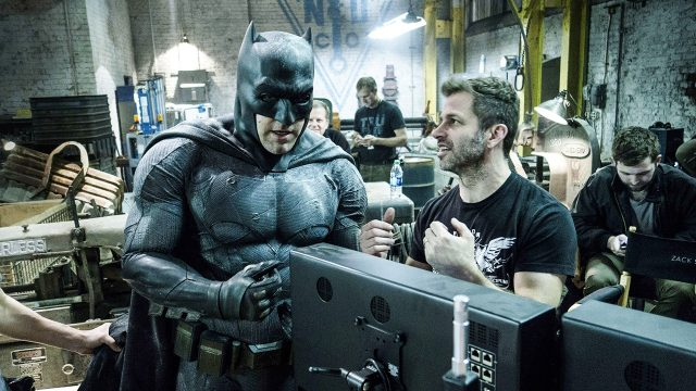 You may only see Ben Affleck in major motion pictures at the theaters...if you ask him