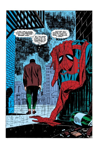 The story from Amazing Spider-Man #50 could influence Spider-Man 3 in the movies.