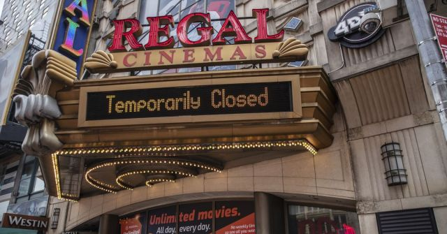 The 543 Regal Theaters may be closed in the U.S. by Cineworld Group PLC. Thanks again, COVID!